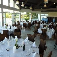 Salle du restaurant en version mariage