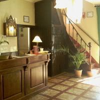 La receptionet l'escalier centenaire