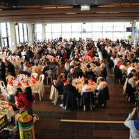 Déjeuner de 600 personnes