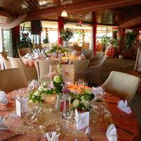 Tables mariage au sunset