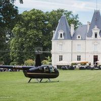 Château Le Saz, 44240 , vu d'un drône
