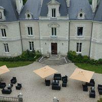 Château Le Saz, 44240, vu d'un drône