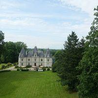 Château Le Saz, 44240 :  parc du château le Saz