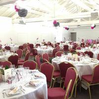 Salle des Orangers en configuration banquet