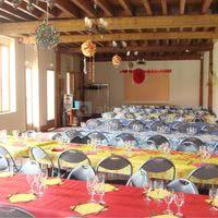 La salle autre disposition des tables