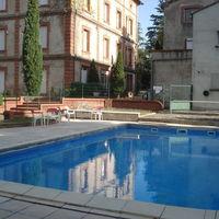 Extérieur piscine d'été
