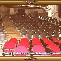 L'amphithéâtre pour les seminaires et spectacles