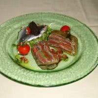 Terrine de tomates aux anchois frais mariné