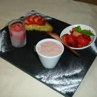 Dégustation de fraises