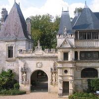 Facade du château