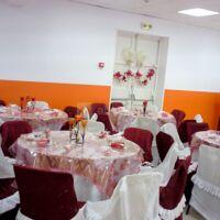 La salle toute repeinte & décorée