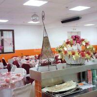 La salle très bien décorée pour un mariage