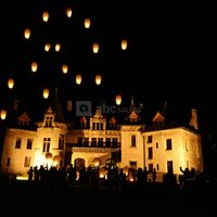 Les lanternes du Château-Manoir