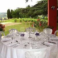 Galerie donnant sur les vignes
