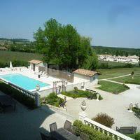 Terrasse, piscine et parc
