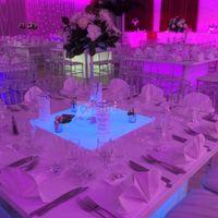 Tables en plexi et led