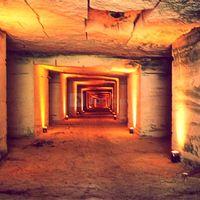De superbes carrières souterraines