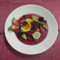 Minestrone de fruits frais