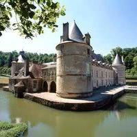 Le château dans son écrin
