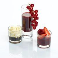 Verrines soupe de fruits rouges