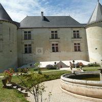 Château couvert (façade jardins)