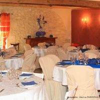 Tables Mariage en bleu