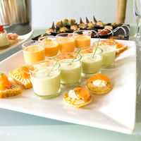 Exemple de buffet lors d'un cocktail