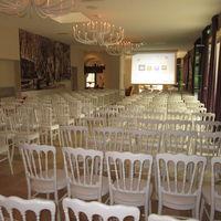 Conférence en configuration théâtre