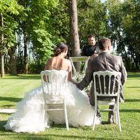 Cérémonie de mariage au domaine