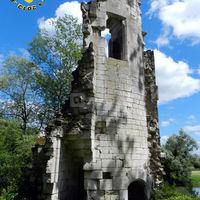 Tour nord est ruine