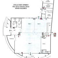 SALLE DES ORMES plan