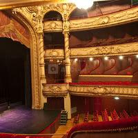 Grande Salle - vue sur la scène du théâtre Gabrielle Dorziat