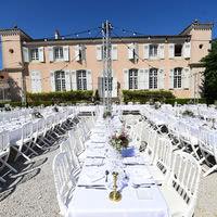Mariage sur la terrasse sud du Château