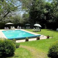 Espace piscine pour le brunch