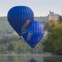 Vol en montgolfières