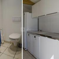 Sanitaire et cuisine de la salle de réception