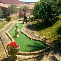Mini-golf sur place