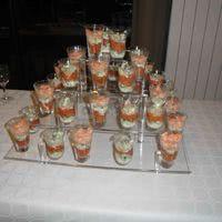 Trio de tartares: saumon, tomates et concombres