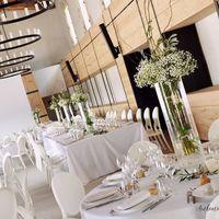 Grande salle en banquet mariage