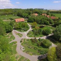 Photo aérienne du site de 25 hectares