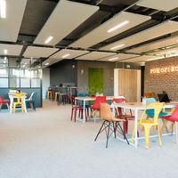 Rokoriko, la salle de réunion récréative à Lyon Confluence