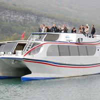 Yacht alain prud'homme pont supérieur