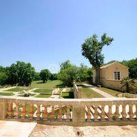 Vue du Parc et Jardin du Chateau