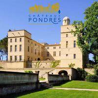 Chateau de Pondres facade extérieur
