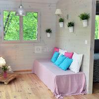 Salon de la cabane romantique