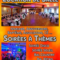 "Location Salle ""Courtry Club 77"""