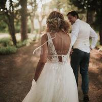 L'arrivée des mariés (Léa Fery photographe)