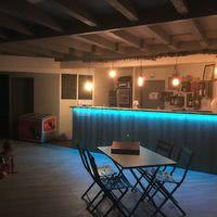 Bar Petite salle Camping Les Murmures du Lignon