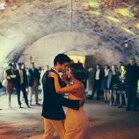 Soirée dansante dans la salle du Caveau
