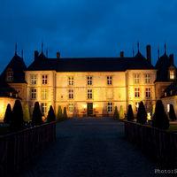 Chateau de Vitry by night
